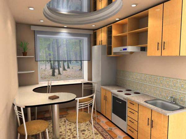 Идеи для кухни фото 9 кв.м