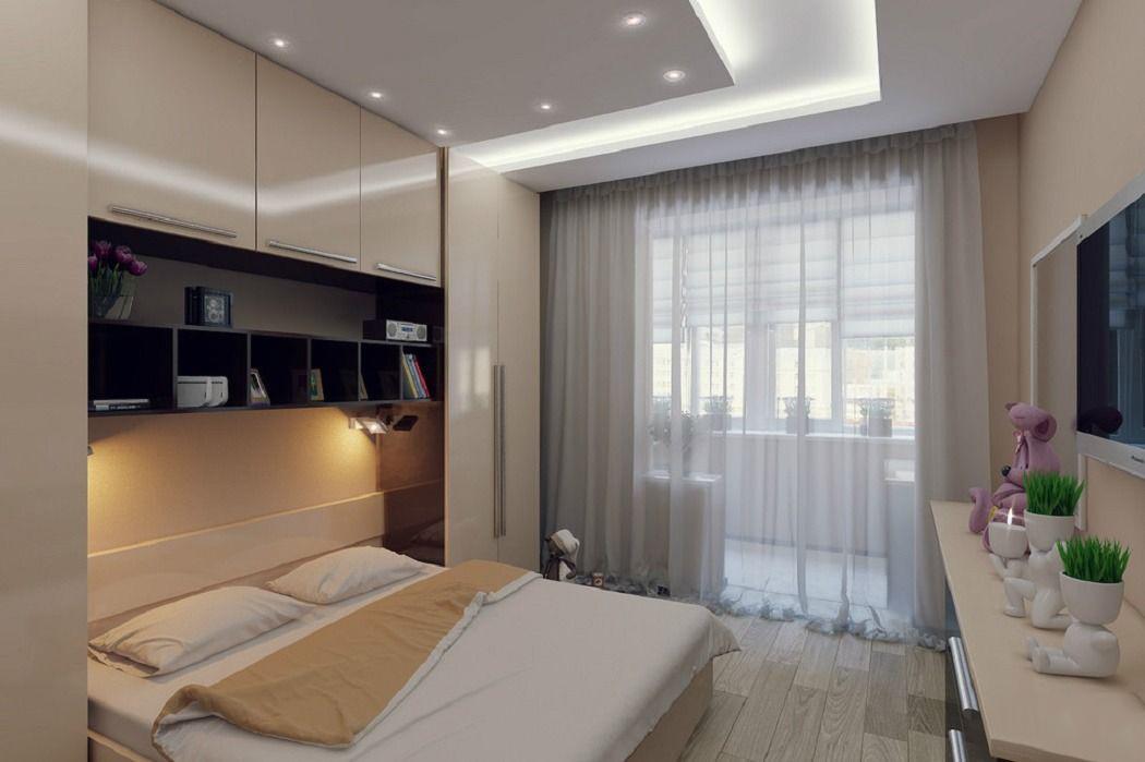 Спальня 12 кв м реальный дизайн