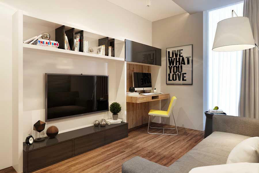 Интерьер гостиной 11 кв.м фото с диваном