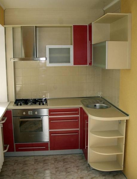 Как сделать кухню в хрущёвке фото 955