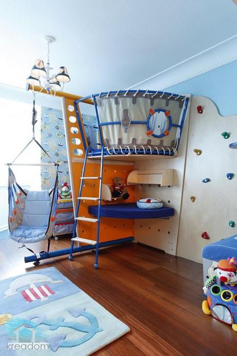 Детский уголок своими руками в однокомнатной квартире 975