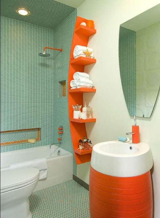 Совместный ванная комната дизайн