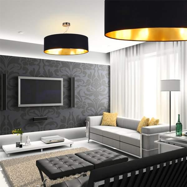 Интерьер зала в квартире в современном стиле фото