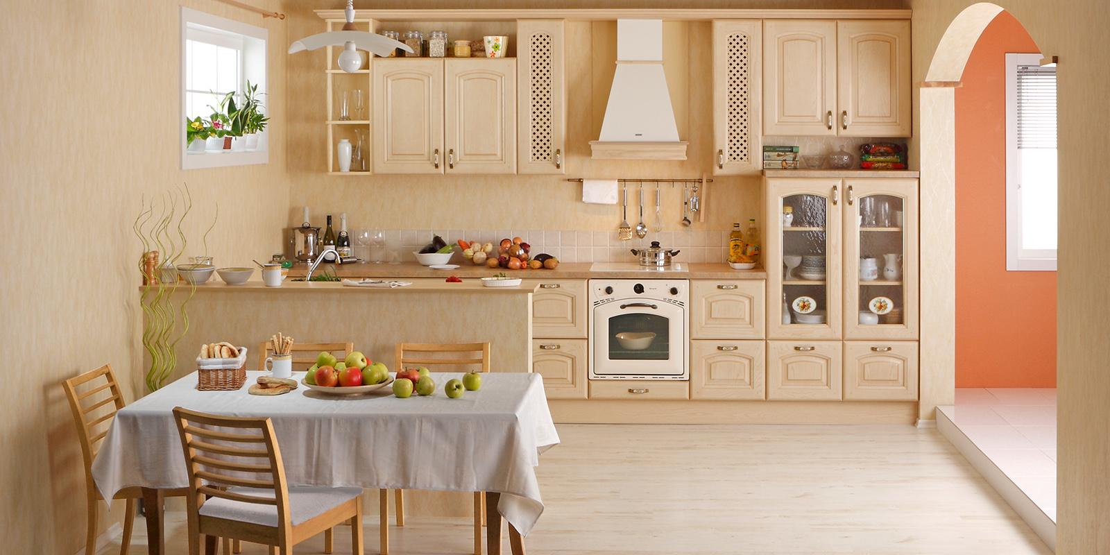 Светлая кухня  № 1754530 загрузить
