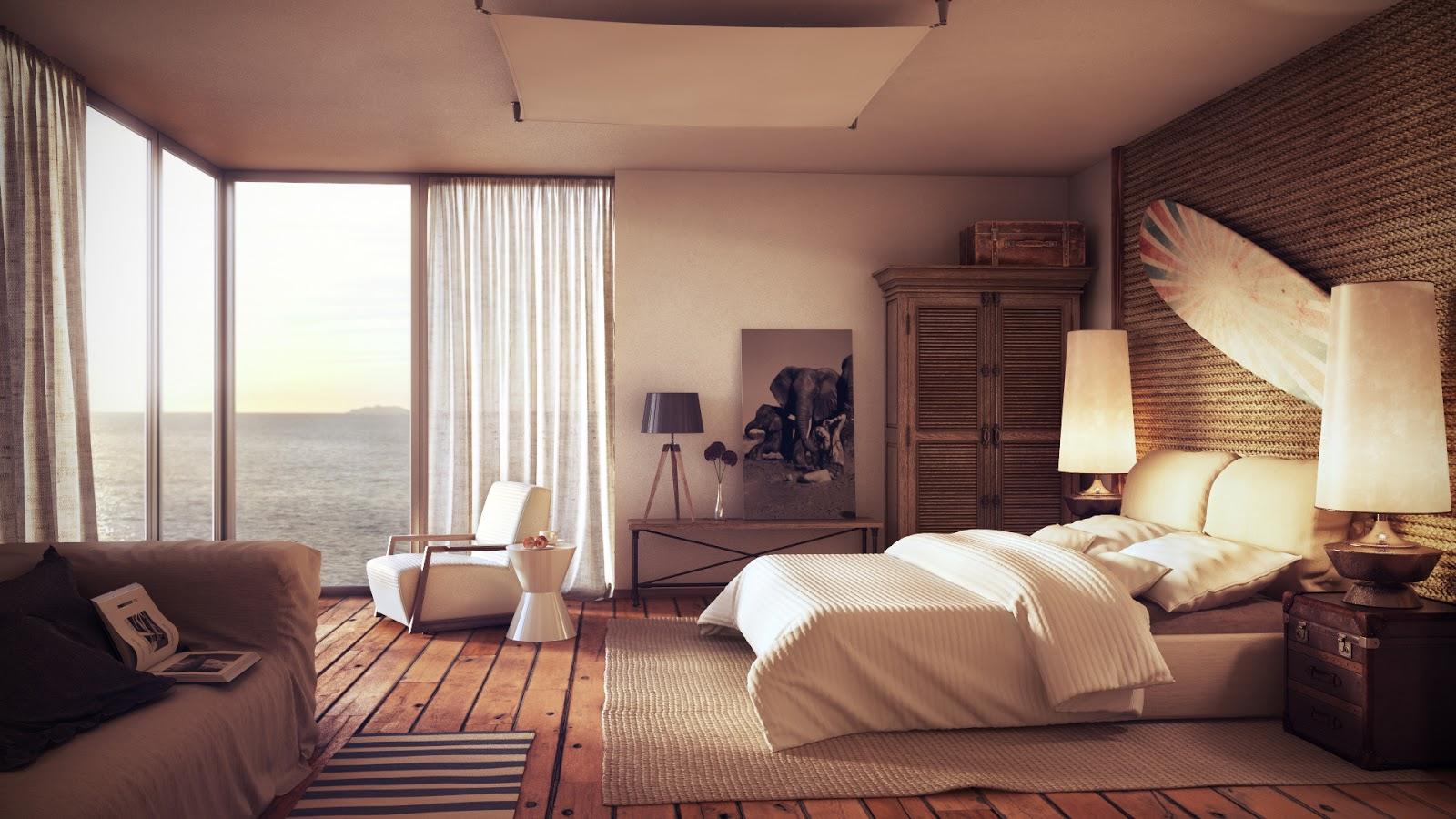 Спальня с выходом к бассеину  № 1743830 без смс