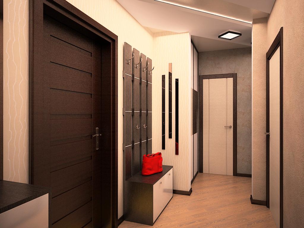 Дизайн коридоров в панельных домах