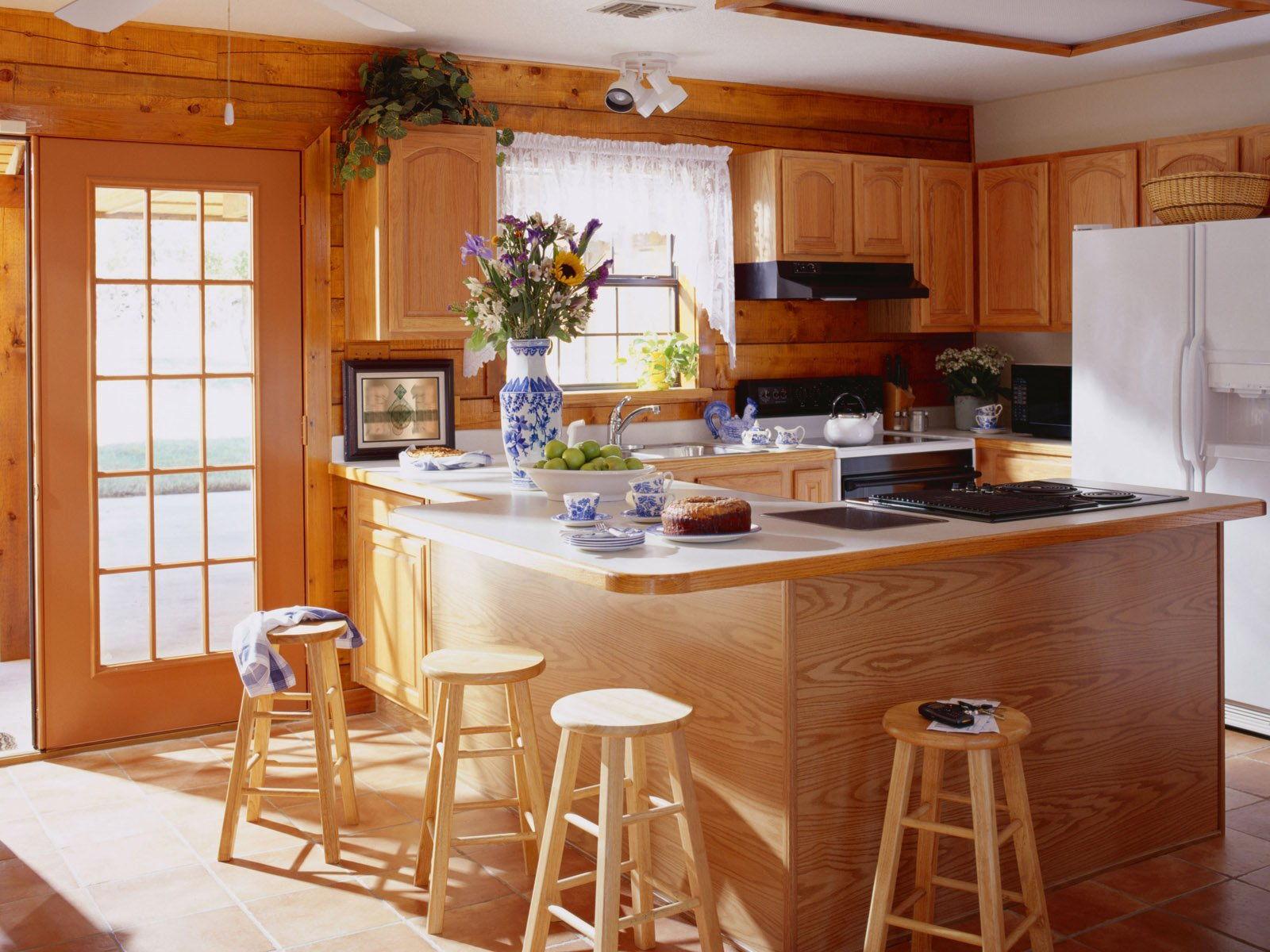 Отделка кухни в частном доме: подходящий дизайн и материалы 26