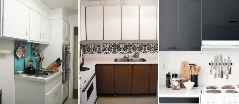 Ersetzen Sie die Tür in der Küche. Der Ersatz von Küchenfronten ist ...