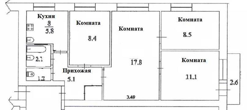 могут квартиры 4комнатные в пятиэтажке магазинов Омска