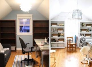 Typische Reparatur einer Zweizimmerwohnung: ein Standardkomplex ...