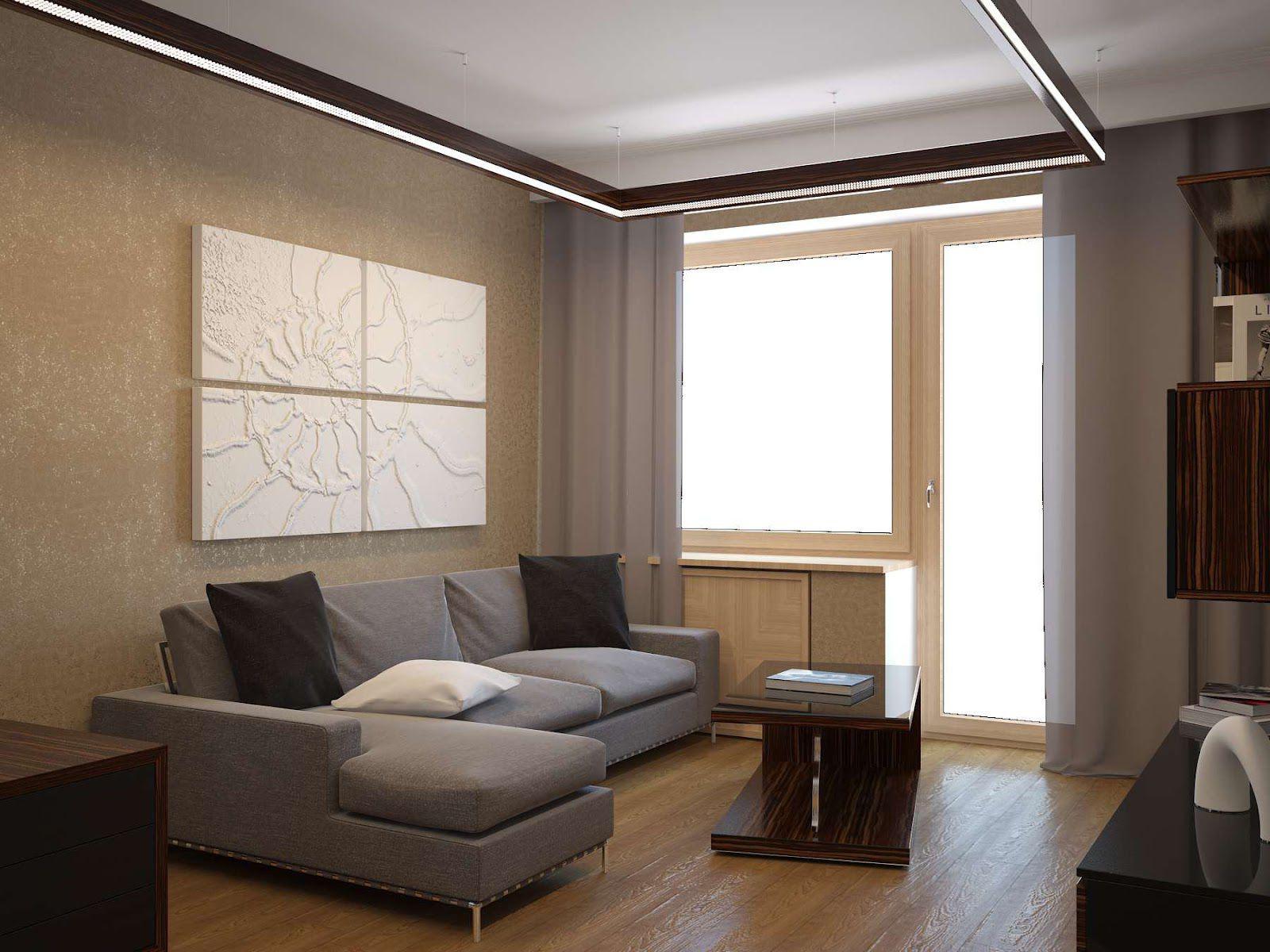 Reparatur der 1-Zimmer-Wohnung Chruschtschow. Design der Wohnung ...