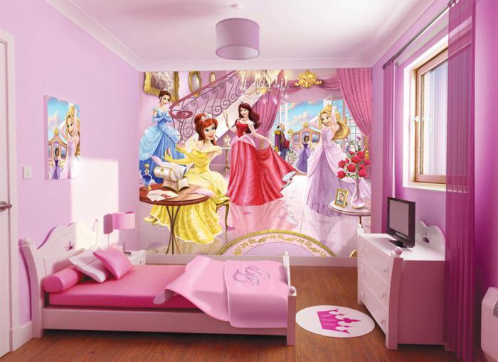 Aber Das Zimmer Muss Warm Und Sonnig Sein. Als Nächstes Werde Ich  Empfehlungen Für Die Wahl Des Designs Für Mädchen Verschiedener  Altersgruppen Geben.
