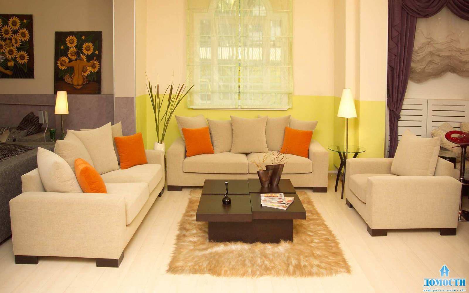 Layout-Layout des Wohnzimmers eines rechteckigen Klassikers ...