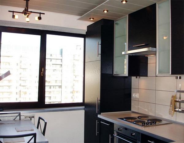 Küchen für sehr kleine Räume. Wie man eine kleine Küche funktional ...