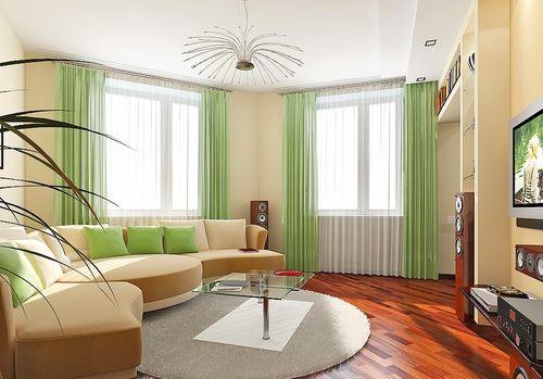 Im Gästebereich, In Einem Modernen Stil Eingerichtet, Achten Sie Darauf,  Eine Weiche Ecke Und Couchtisch. Teilen Sie Den Raum In Zonen Ein, Die Der  Stange ...