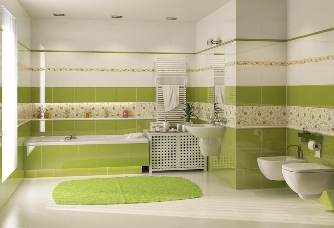 Beispiele für das Layout von Fliesen im Badezimmer. Erfahren Sie ...