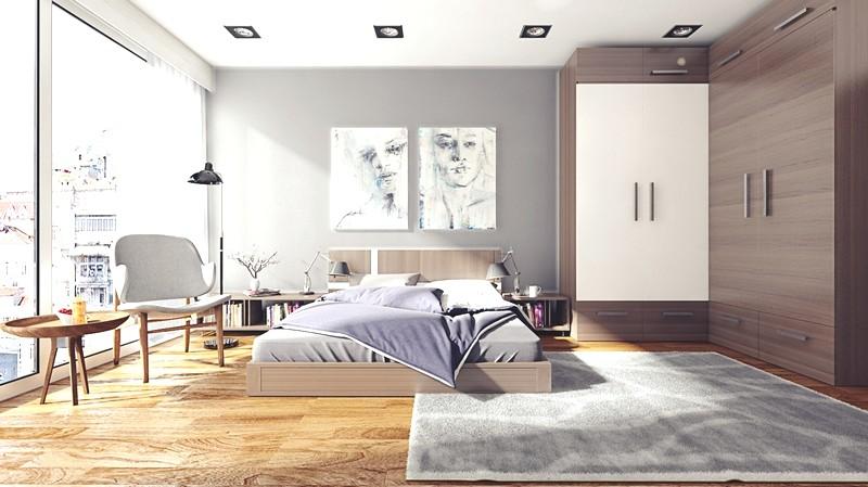 Für Ein Kleines Zimmer Sind Multifunktionale Möbel Toll. Die Große  Popularität Wurde Von Einem Fallfach Mit Spiegeltüren Erhalten.