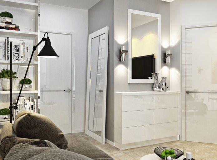 Design Kleine Wohnung Es War Notwendig, Stilvoll, Elegant Zu Machen Und  Somit Modernen Komfort Für Die Dort Lebenden Menschen Zur Verfügung Zu  Stellen.