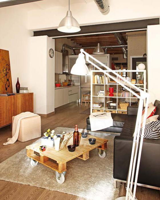 ... Zu Denken Und In Einem Dreidimensionalen Raum Zu Leben, Der In Einer  Einzimmerwohnung Oft übersehen Wird? Wie Man Eine Kleine Wohnung Ausstattet,  ...